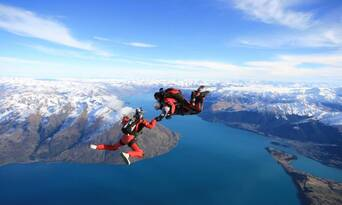 Queenstown Tandem Skydive 9,000ft Thumbnail 1