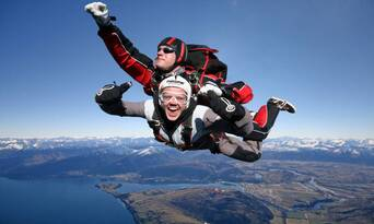 Queenstown Tandem Skydive 9,000ft Thumbnail 3