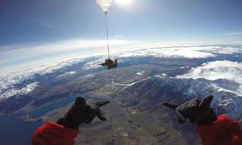 Queenstown Tandem Skydive 9,000ft Thumbnail 5