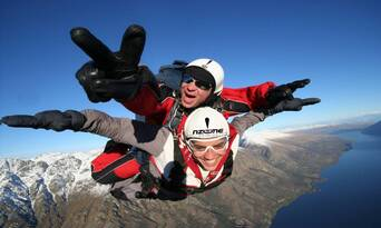 Queenstown Tandem Skydive 9,000ft Thumbnail 6