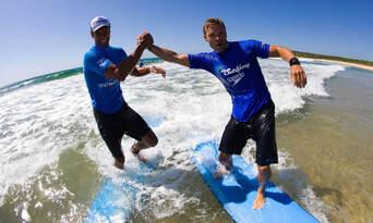 Lennox Heads 2 hour Group Surf Lesson Thumbnail 1
