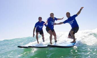 Lennox Heads 2 hour Group Surf Lesson Thumbnail 4