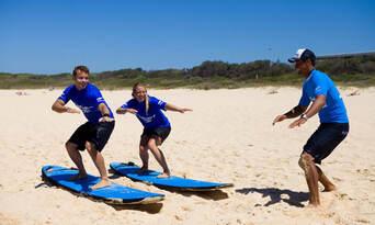 Lennox Heads 2 hour Group Surf Lesson Thumbnail 5