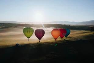 Sunrise Balloon Flight in Mansfield Thumbnail 1
