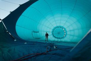 Sunrise Balloon Flight in Mansfield Thumbnail 3