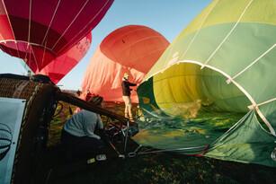 Sunrise Balloon Flight in Mansfield Thumbnail 4