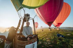 Sunrise Balloon Flight in Mansfield Thumbnail 5