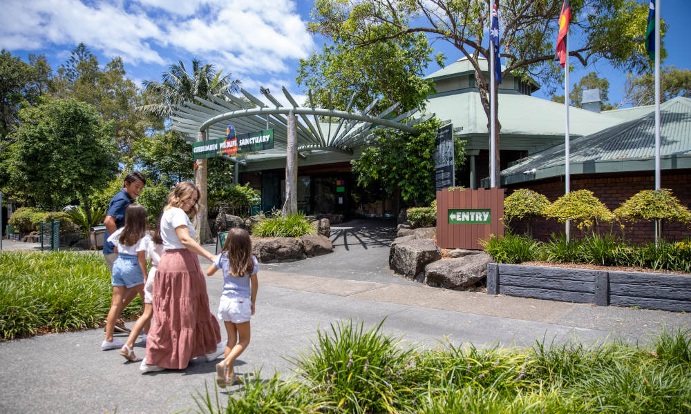Currumbin Wildlife Sanctuary Family Entry + Meal Deal