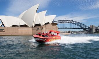 Sydney Harbour Jet Boat Ride Thumbnail 1