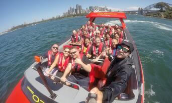 Sydney Harbour Jet Boat Ride Thumbnail 2