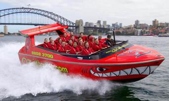 Sydney Harbour Jet Boat Ride Thumbnail 4
