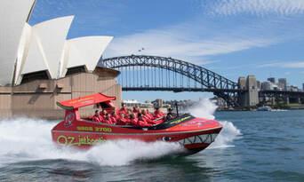 Sydney Harbour Jet Boat Ride Thumbnail 5