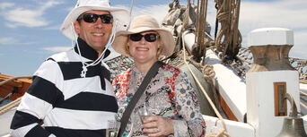 Tall Ship Wine and Canapes Evening Cruise Thumbnail 1