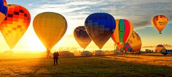 Sydney Hot Air Balloon Ride from Camden Thumbnail 3