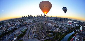 Melbourne City Balloon Flight Thumbnail 2