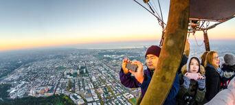 Melbourne City Balloon Flight Thumbnail 4