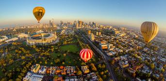 Melbourne City Balloon Flight Thumbnail 1