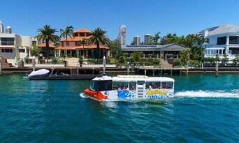 QuackrDuck Gold Coast City Tour and River Cruise Thumbnail 1