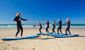 Noosa Surfing Lesson Thumbnail 4