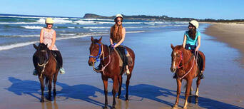 Horse Riding Byron Bay Beach Ride Thumbnail 5
