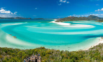 Whitehaven Beach Southern Lights and Northern Exposure Combo Thumbnail 2