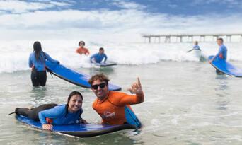 Main Beach Surfing Lessons Thumbnail 1