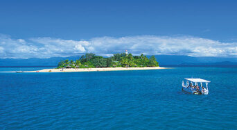 Port Douglas to Low Isles Full Day Sailing Cruise Thumbnail 1