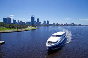 Swan River Lunch Cruise with Fremantle Sightseeing Tram Tour Thumbnail 1