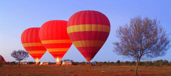 30 Minute Scenic Hot Air Balloon Flight including Sparkling Wine Thumbnail 1