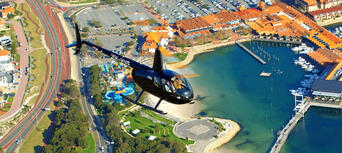 Scenic Helicopter Flight over Perth City Thumbnail 2