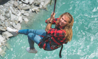 Shotover Canyon Swing Queenstown Thumbnail 2