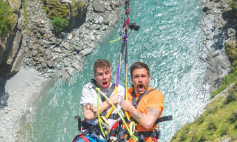 Shotover Canyon Swing Queenstown Thumbnail 4