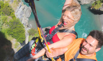 Shotover Canyon Swing Queenstown Thumbnail 5