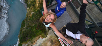 Shotover Canyon Swing Queenstown Thumbnail 1