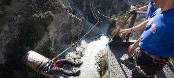 Shotover Canyon Swing Queenstown Thumbnail 3