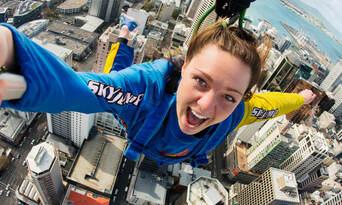 Auckland Sky Tower SkyJump Thumbnail 1