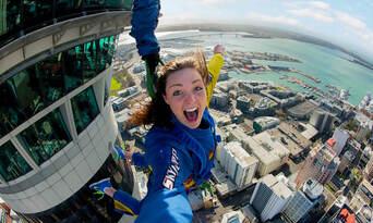 Auckland Sky Tower SkyJump Thumbnail 5