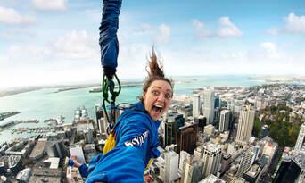 Auckland Sky Tower SkyJump & SkyWalk Combo Thumbnail 3