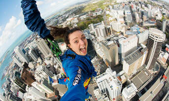 Auckland Sky Tower SkyJump & SkyWalk Combo Thumbnail 6