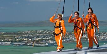 Auckland Sky Tower SkyJump & SkyWalk Combo Thumbnail 1