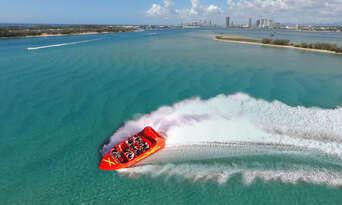 Surfers Paradise Ultimate Jetboat Ride Thumbnail 3