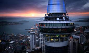 Auckland Sky Tower SkyWalk and SkyJump Combo Thumbnail 3