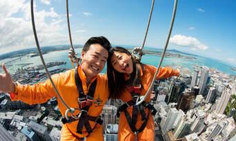 Auckland Sky Tower SkyWalk and SkyJump Combo Thumbnail 4