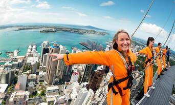 Auckland Sky Tower SkyWalk and SkyJump Combo Thumbnail 5