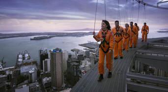 Auckland Sky Tower SkyWalk and SkyJump Combo Thumbnail 1