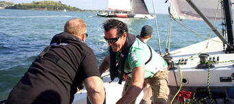 Americas Cup Sailing Experience in Auckland Thumbnail 2