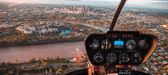 Brisbane City Twilight Helicopter Flight Thumbnail 2