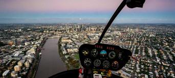 Brisbane City Twilight Helicopter Flight Thumbnail 6