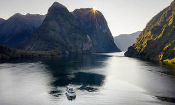 Doubtful Sound Wilderness Cruise from Manapouri Thumbnail 1