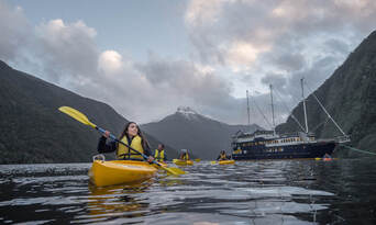 Doubtful Sound Overnight Cruise and Coach from Manapouri Thumbnail 1
